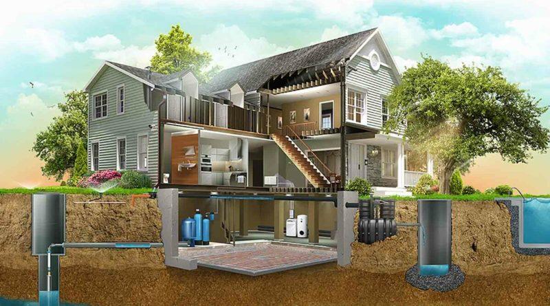 Канализация загородных домов