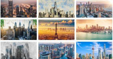 3д фотообой города