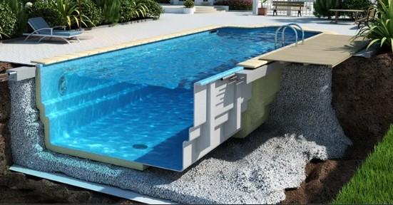 строительство бассейнов в России