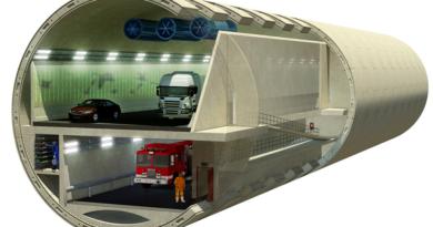 возведения подземных транспортных тоннельных