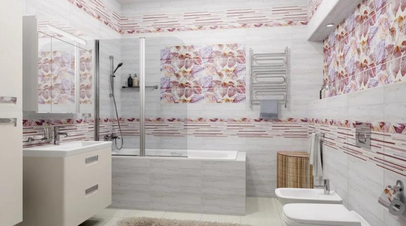 выбрать керамическую плитку для ванны