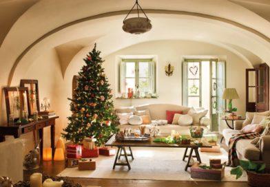 Чтобы красиво украсить свой дом к празднику — нужен либо дизайнерский талант, либо вдохновение