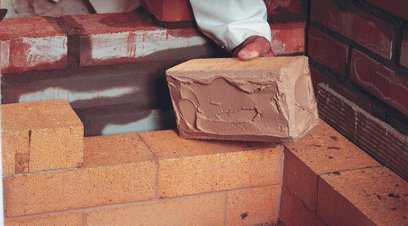 Раствор для кладки печей из кирпича: какой нужен, как приготовить