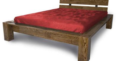 кровати из массива дуба